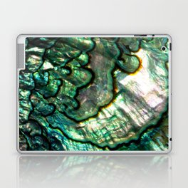 Shimmering Green Abalone Mother of Pearl Laptop & iPad Skin