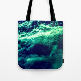 Eerie Waters Of The Bermuda Triangle Tote Bag