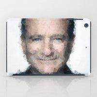 robin williams iPad Cases featuring Robin Williams by lauramaahs