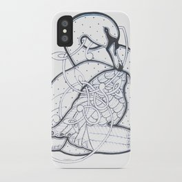 Carrick Swan iPhone Case