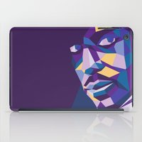 prince iPad Cases featuring Prince by Liam Brazier