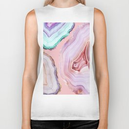 Mineral Agates #Glam collection Biker Tank