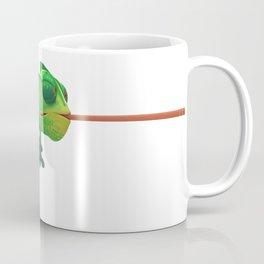 Run Cricket Run - Crazy Chameleon Coffee Mug