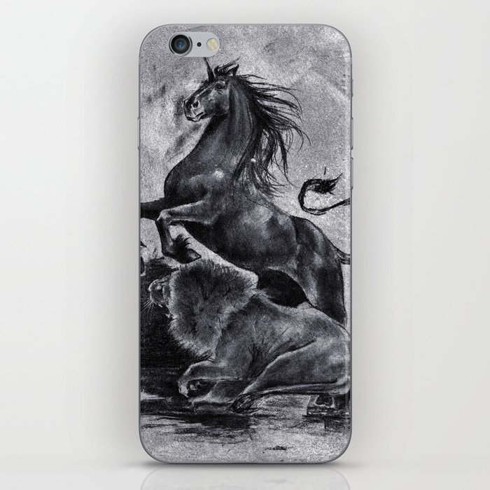 The Savage and The Untamed iPhone Skin