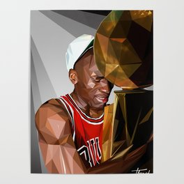 MJ THE GOAT Poster