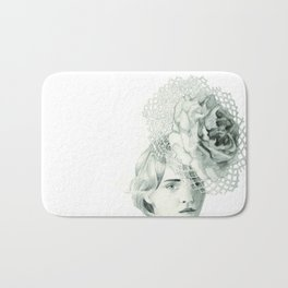 Emma in Bloom Bath Mat