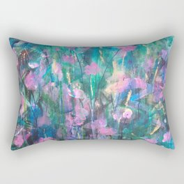 """FAIRY DREAMS"" Original Painting by Cyd Rust Rectangular Pillow"