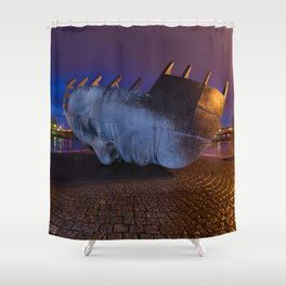 Merchant seafarer's war memorial 1 Shower Curtain