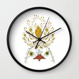Persian eagle Wall Clock