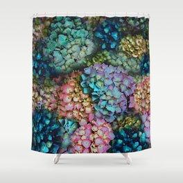 Hydrangeas Shower Curtain