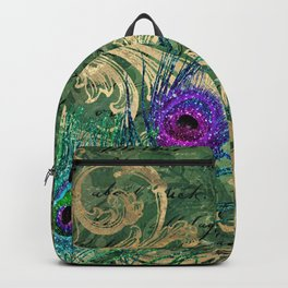 Feather Peacock 23 Backpack