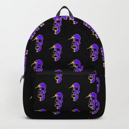 Skull - Purple Backpack