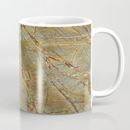 Forest Green Marble Coffee Mug