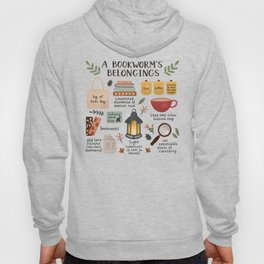 A Bookworm's Belongings Hoody