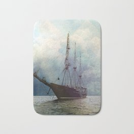 Fernweh for distant lands [expedition to Galapagos] Bath Mat