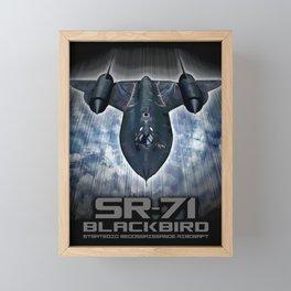 SR-71 Blackbird Framed Mini Art Print