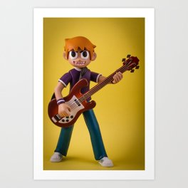 Scott Pilgrim Art Print