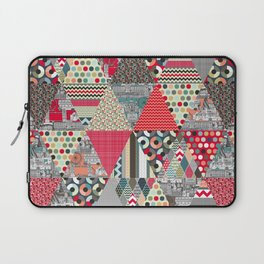 London triangle quilt Laptop Sleeve