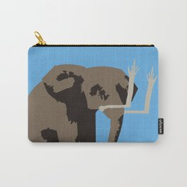 Angry Elephant Carry-All Pouch
