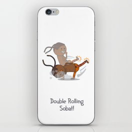 Double Rolling Sobat! iPhone Skin