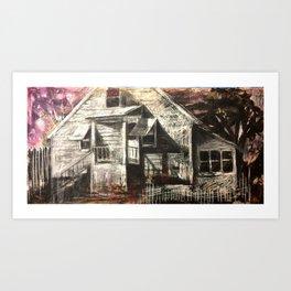 Vireo Street Phantoms: Home Art Print