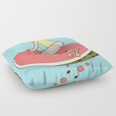 Watermelon Floor Pillow