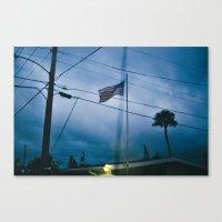 trailer park boys Canvas Prints featuring Trailer Park by Sarah Kane