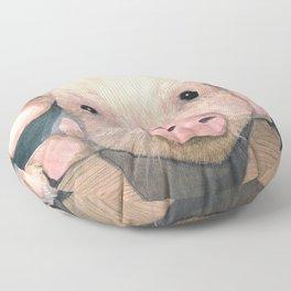 Pig Face Floor Pillow