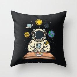 Astroramenot Throw Pillow