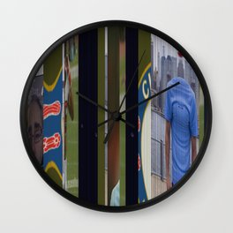 Zabaleta Chelsea Foster Arian Chelsea Wall Clock