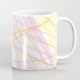 Design exotic lines blocks Coffee Mug