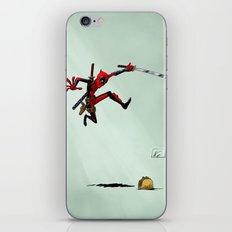 Taco attack iPhone & iPod Skin
