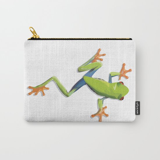 Greenery tree-frog Carry-All Pouch