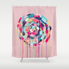 Odessa - Abstract painting #society6 Shower Curtain