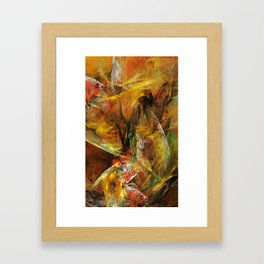 Losin the Paper Illusions Framed Art Print