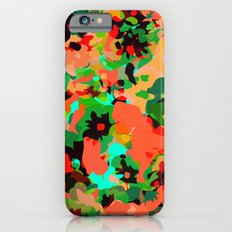 ALL FOR FLOWERS- GREEN iPhone 6s Slim Case