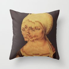 Frau Dürer 201 Throw Pillow