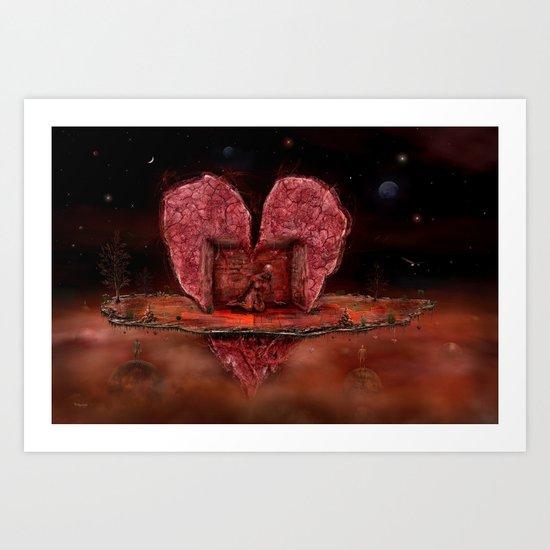 Deepheart Art Print