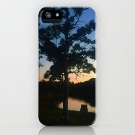Lakeside Evening iPhone Case