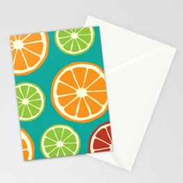 Poster Background | Citrus Pattern Stationery Cards