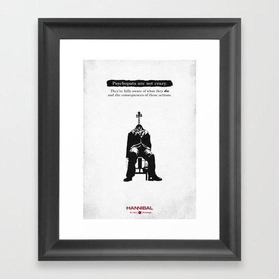 Hannibal - Fromage Framed Art Print