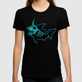 Unicorn Shark Blue T-shirt