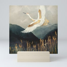 Elegant Flight Mini Art Print