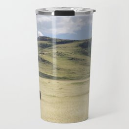Alone Time - Bison on Range Travel Mug