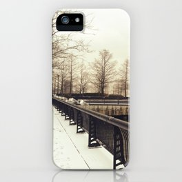 Along the Waterfront - Hoboken, NJ iPhone Case