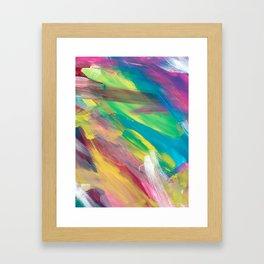 Abstract Artwork Colourful #2 Framed Art Print
