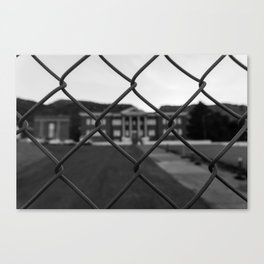 Old Superior High School Canvas Print
