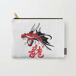 Dragon's head Carry-All Pouch