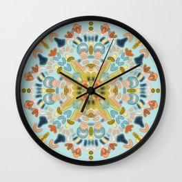 Late-summer Sun Wall Clock