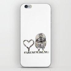 I Give you my heart iPhone & iPod Skin